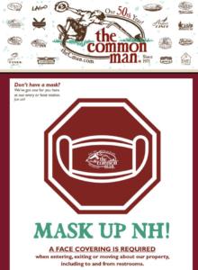 Mask mandate flier