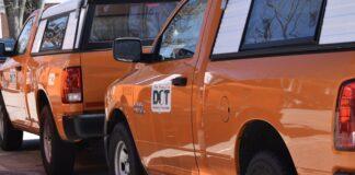 NH Department of Transportation trucks