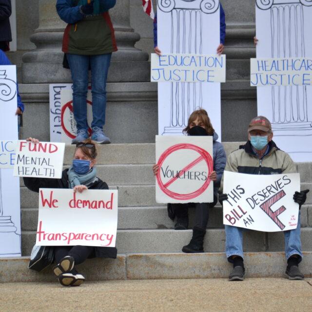 Senators urged to prioritize health care, public education in state budget