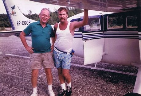 Renny Cushing and his father