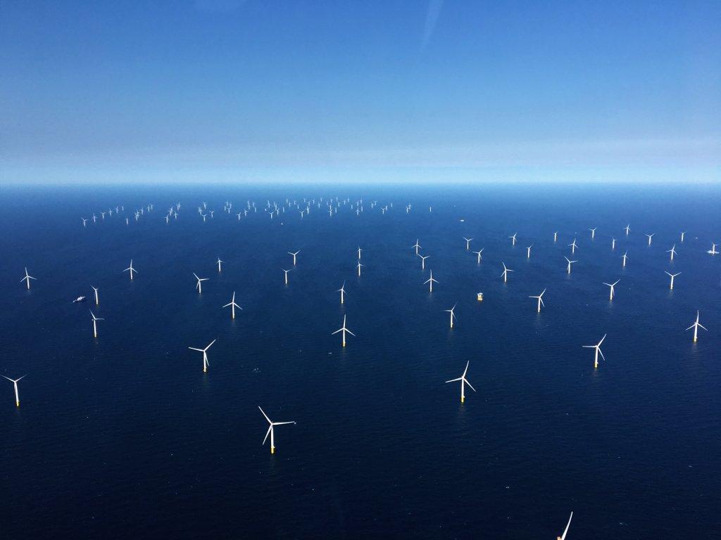 An offshore wind development