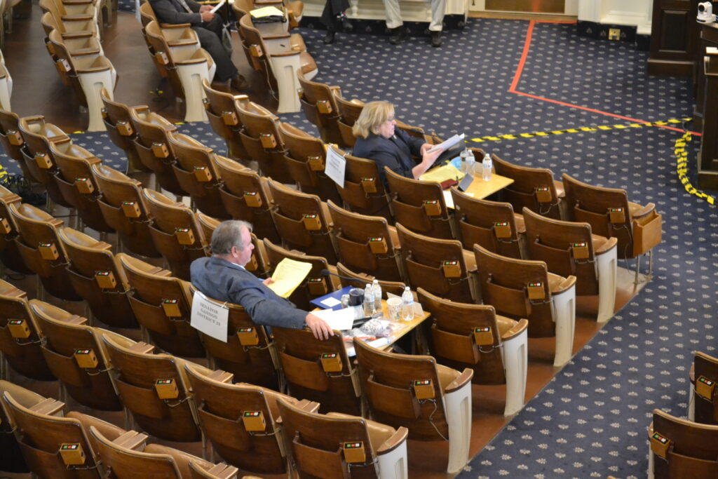 NH Senate chambers