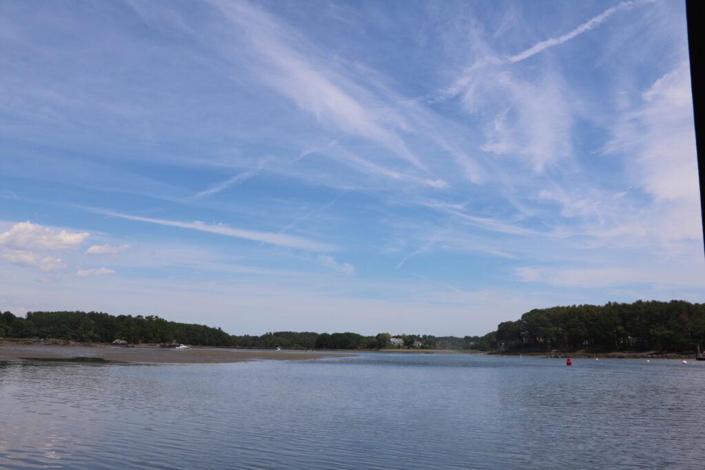 Great Bay estuary, looking out toward Sagamore Creek