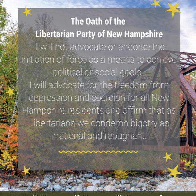 The unraveling of the Libertarian Party of New Hampshire
