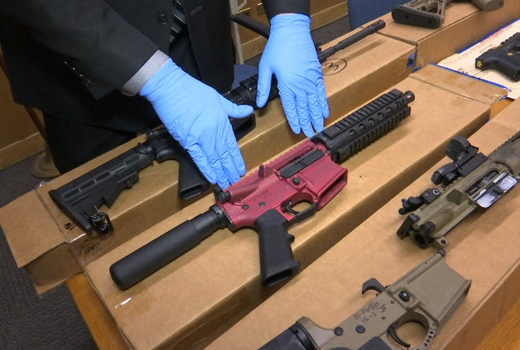 Commentary: What are 'ghost guns,' a target of Biden's anti-crime effort?