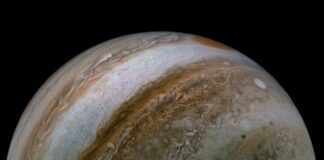 A photo of Jupiter
