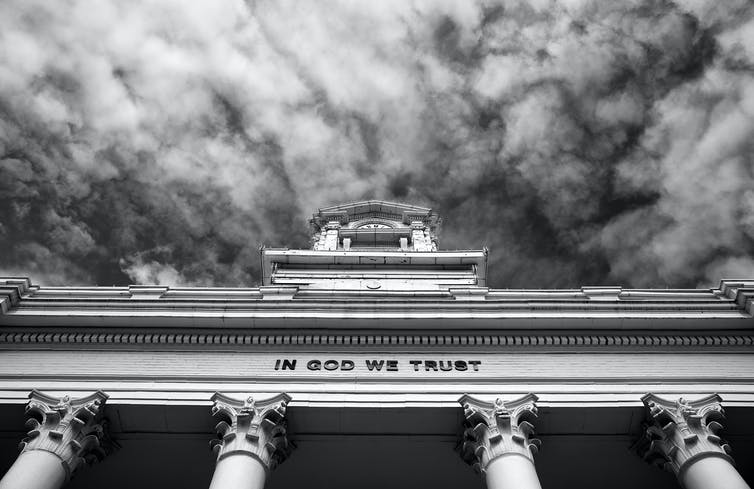 Commentary: How 'In God We Trust' bills are helping advance a Christian nationalistagenda