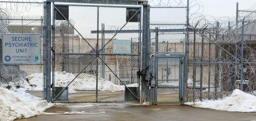 Exterior gate of the SPU